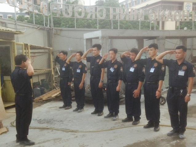 Bảo vệ công trường xây dựng