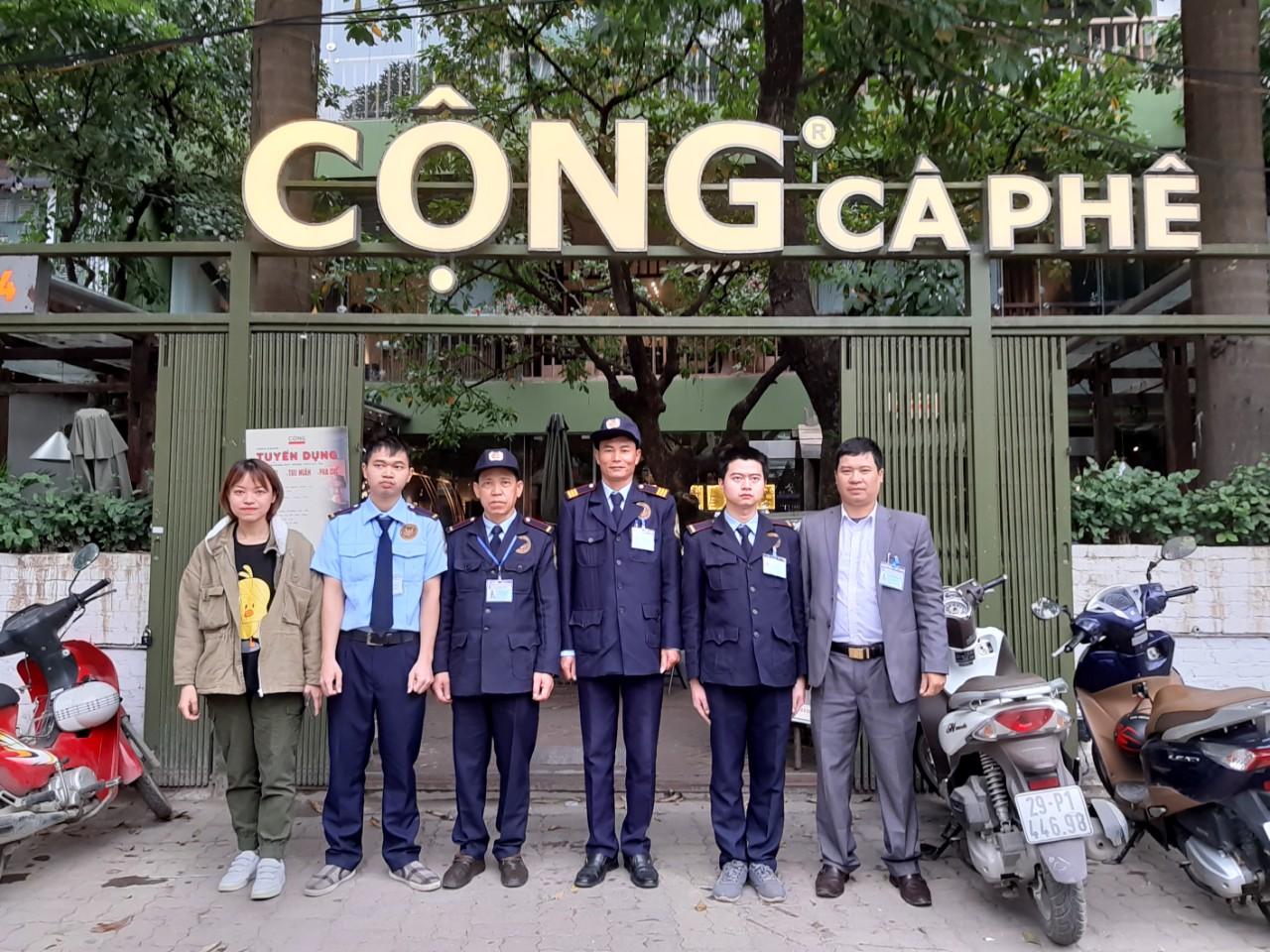 Triển khai bảo vệ tại Cộng Cà Phê