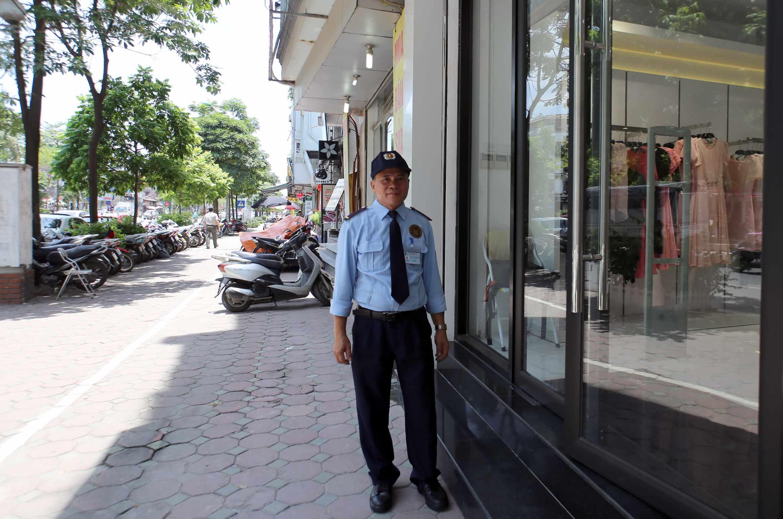 Nhân viên bảo vệ Thiên Bình